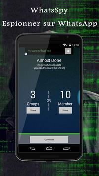 whatSpy espion téléphone Prank apk screenshot