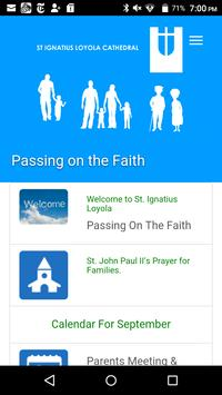 Passing on the Faith poster