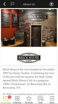 Brick House Cafe apk screenshot
