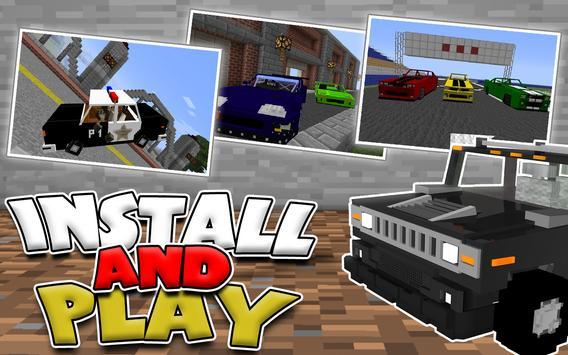 Cars MODS for Minecraft apk screenshot