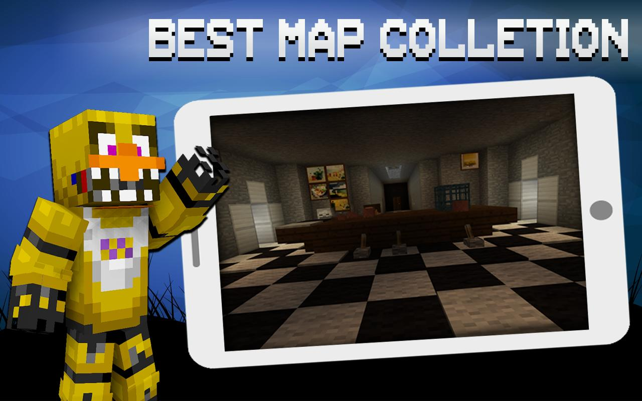 Maps FNAF for Minecraft for Android - APK Download