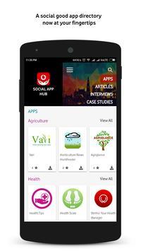 Social App Hub screenshot 1