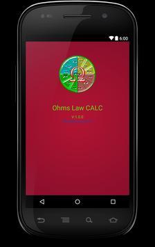 Ohms Law CALC  Free apk screenshot