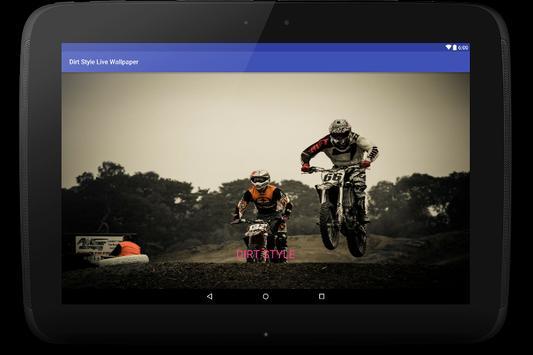 Dirt Style Live Wallpaper apk screenshot