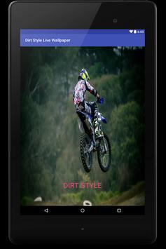 Dirt Style Live Wallpaper screenshot 4