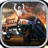 Monster Car Hill Racer icon
