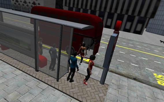 London City Bus Driving 3D poster