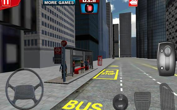 London City Bus Driving 3D screenshot 2