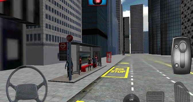 London City Bus Driving 3D screenshot 5