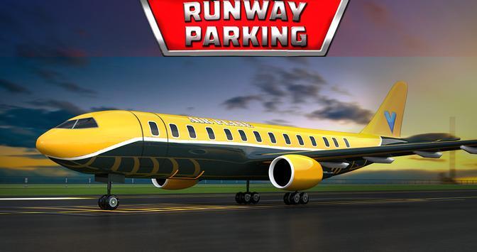 Runway Parking - 3D Plane game poster