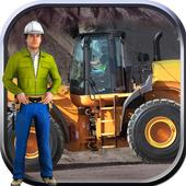 Wheel Loader Construction Game icon