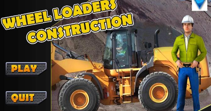 Wheel Loader Construction Game poster