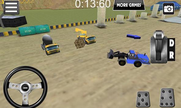 Wheel Loader Construction Game screenshot 10