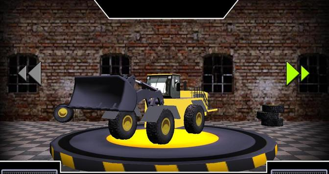 Wheel Loader Construction Game screenshot 1