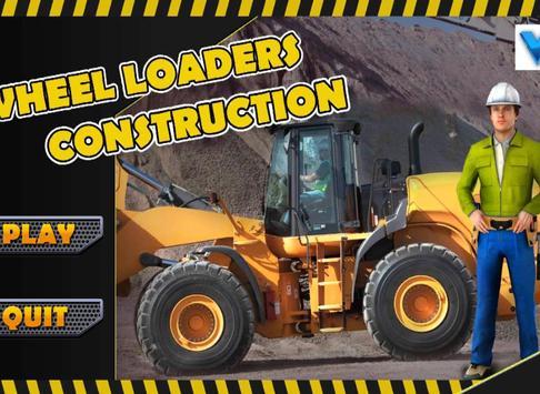 Wheel Loader Construction Game screenshot 3