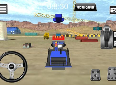 Wheel Loader Construction Game screenshot 5