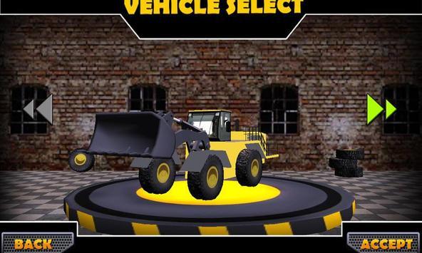 Wheel Loader Construction Game screenshot 8