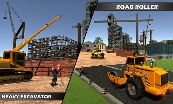 Mega City Construction Builder apk screenshot
