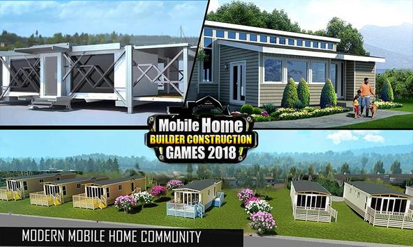 Mobile Home Builder Construction Games 2018 截圖 5