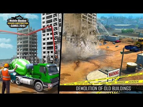 Mobile Home Builder Construction Games 2018 截圖 8