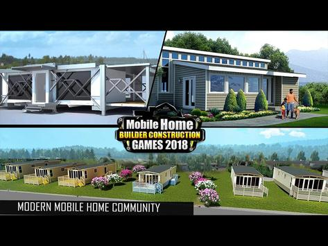 Mobile Home Builder Construction Games 2018 截圖 11