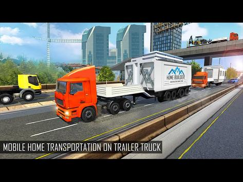 Mobile Home Builder Construction Games 2018 截圖 12