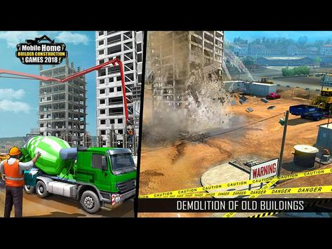Mobile Home Builder Construction Games 2018 截圖 14