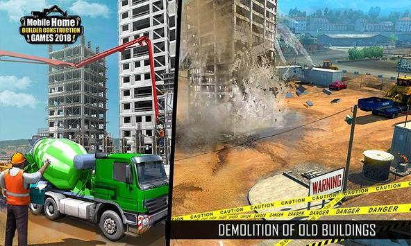 Mobile Home Builder Construction Games 2018 截圖 2