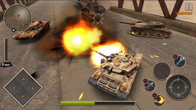 Modern Tank Force: War Hero poster