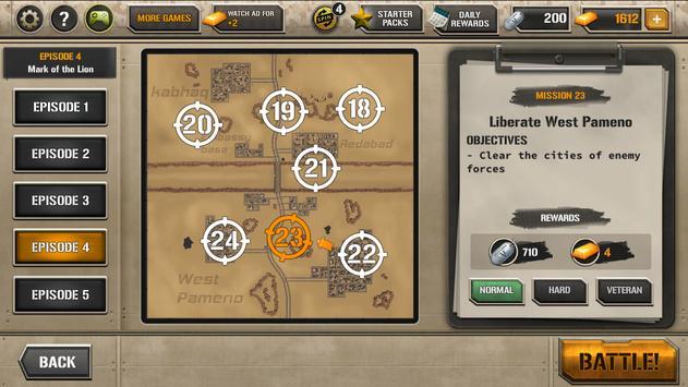 Modern Tank Force: War Hero apk screenshot