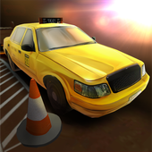 Modern Taxi School Parking 3D icon