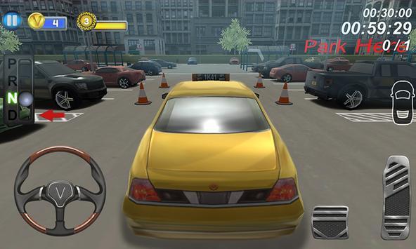 Modern Taxi School Parking 3D apk screenshot
