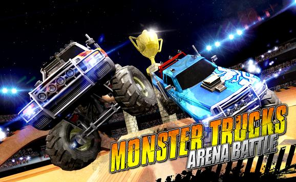 Monster Trucks Arena Battle apk screenshot