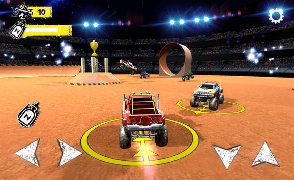 Monster Trucks Arena Battle poster