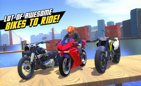 Motor Delivery Driver 3D 2 apk screenshot