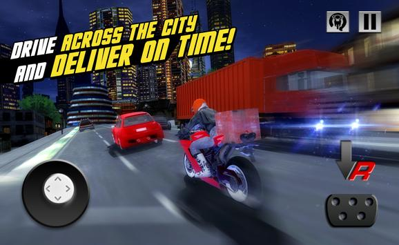 Motor Delivery Driver 3D 3 poster