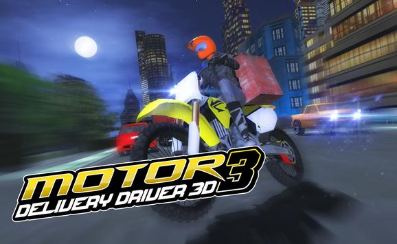 Motor Delivery Driver 3D 3 screenshot 11