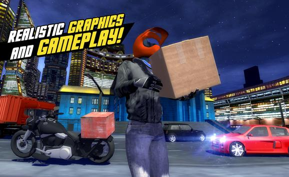 Motor Delivery Driver 3D 3 screenshot 1