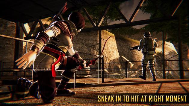 Ninja Archer Assassin FPS Shooter: 3D Offline Game screenshot 9