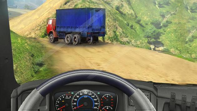 Off Road Cargo Truck Driver poster