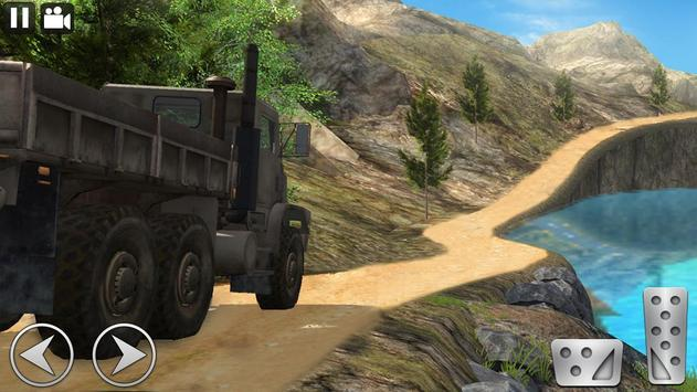 Off Road Cargo Truck Driver screenshot 17