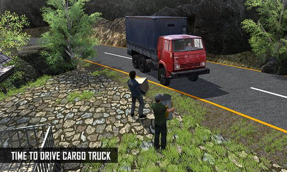 Off Road Cargo Truck Driver screenshot 2