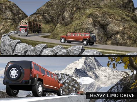 Off Road Tourist Limo Driving apk screenshot