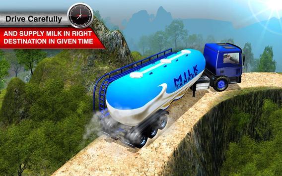 Offroad Milk Tanker Transport screenshot 4
