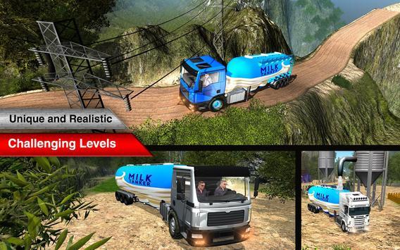 Offroad Milk Tanker Transport screenshot 5