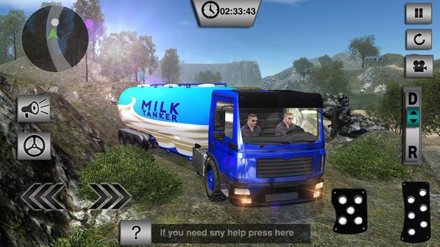 Offroad Milk Tanker Transport screenshot 7