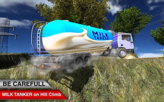 Offroad Milk Tanker Transport poster