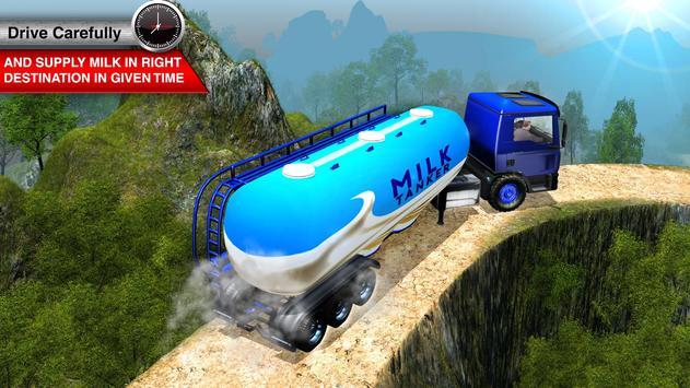 Offroad Milk Tanker Transport screenshot 10