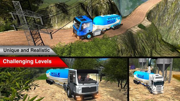 Offroad Milk Tanker Transport screenshot 11