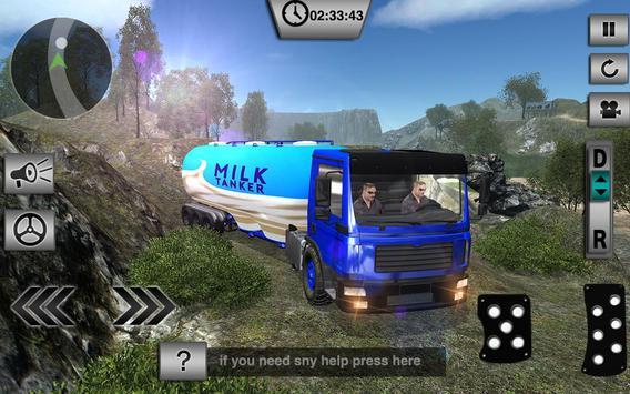 Offroad Milk Tanker Transport screenshot 1